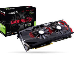 Inno3D GeForce GTX 1070 Gaming OC