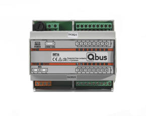 DIN rail module with 16 potential free inputs (INP16)