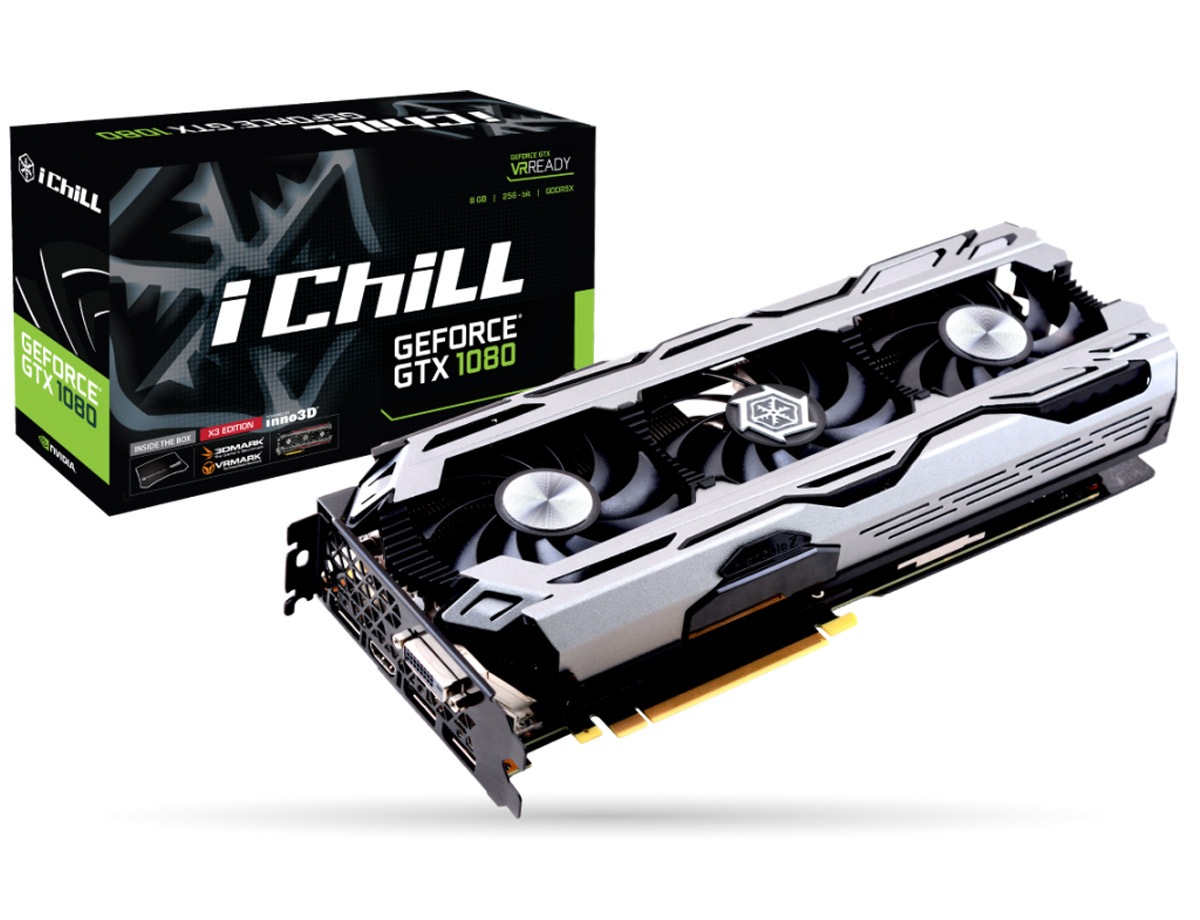 iChill GeForce GTX 1080 X3 iChill GeForce GTX 1080 X3
